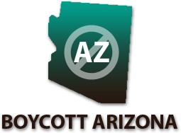 Boycott Arizona Button