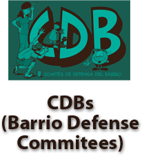 Barrio Defense Committee Button